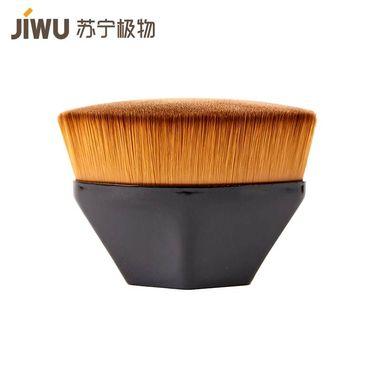 【苏宁极物】花瓣无痕粉底刷 黑色