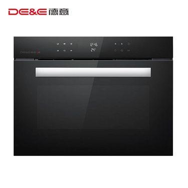 【易购】德意(DE&E)嵌入式电烤箱620D家用45L大容量烤箱不锈钢管发热 热风循环系统