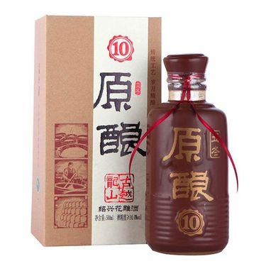 【易购】古越龙山 立冬原酿10 绍兴花雕酒 500ml/盒