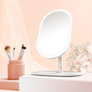 匹奇【唯品会】环形LED化妆镜灯镜两用补光网红化妆镜