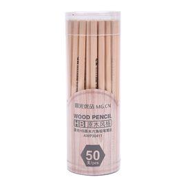 晨光 经典HB原木铅笔木杆铅笔学生铅笔 50支/桶 AWP30411