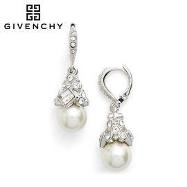 Givenchy/纪梵希 典雅系列白色 珍珠女士耳坠 60340279