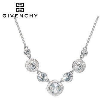 Givenchy/纪梵希 奢华系列银色 施华洛世奇人造水晶 女女士项链 60354419