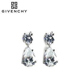 Givenchy/纪梵希 简约秀美水滴锆石女士耳坠 60390381-NY0 银色