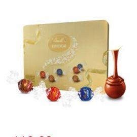 瑞士莲 中粮 瑞士莲软心精选巧克力-16粒装礼盒192g(瑞士进口 盒)