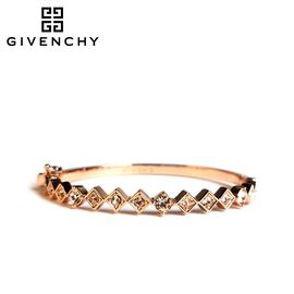 Givenchy/纪梵希 优雅系列 施华洛世奇人造水晶玫瑰金色女士手镯 60468651