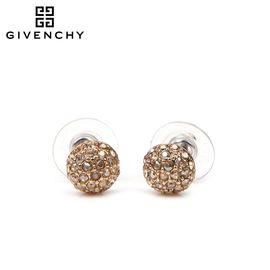 Givenchy/纪梵希 球形碎钻耳钉 玫瑰金色