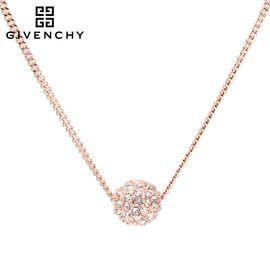 Givenchy/纪梵希 球形碎钻项链 玫瑰金色