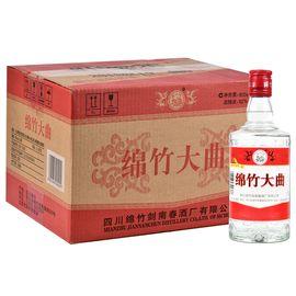 剑南春 绵竹红标大曲 52度 整箱装白酒 500ml*12瓶 口感浓香型