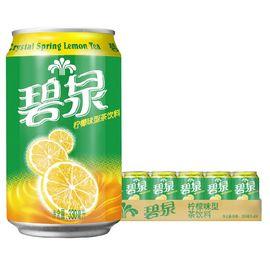 屈臣氏(Watsons)碧泉柠檬茶饮料 330ml*24罐 整箱装
