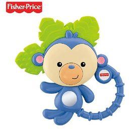 【易购】Fisher-price 费雪 缤纷动物之小猴子牙胶摇铃组 Y6584