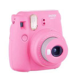 【易购】富士(FUJIFILM)INSTAX 一次成像相机立拍立得 mini9 火烈鸟粉 奢华套餐三(含30张相纸)