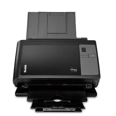 【易购】柯达(Kodak)i2400 扫描仪 A4幅面高速高清 自动双面扫描 馈纸式扫描仪( 身份证彩色扫描设备)黑色