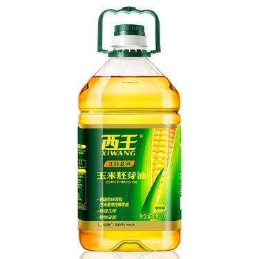 西王 食用油 玉米胚芽油 非转基因物理压榨 3.78L