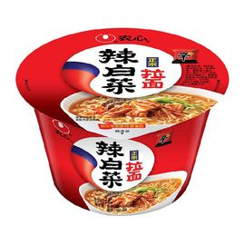 农心 NONG SHIM 辣白菜拉面 碗面 方便面泡面速食食品 117g 单碗