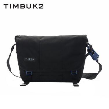 【易购】TIMBUK2美国春夏新款纯色潮流邮差包信使包斜挎单肩包男 黑色XS
