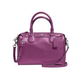 COACH /蔻驰 女士波士顿桶包单肩斜挎手提包 F57521 美国现货 XUNTAO