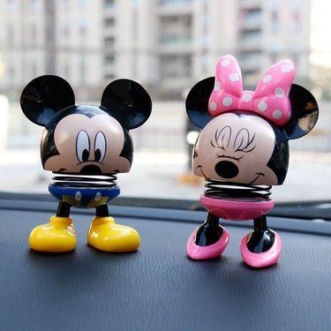 Disney/迪士尼 迪士尼(Disney) 弹簧摇头公仔 米奇(红色)MME-105