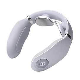 SKG 颈椎按摩器 颈部按摩仪 办公室护颈仪 热敷  4098时尚版(无遥控器)