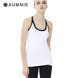 aumnie 澳弥尼丨女士运动上衣健身跑步训练瑜伽服塑身美背并行背心