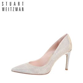 Stuart Weitzman 斯图尔特韦茨曼 女士高跟鞋 金银变色 洲际速买