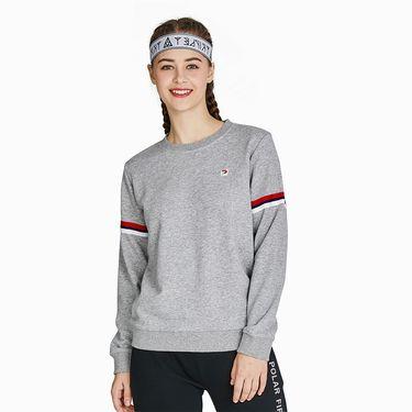Polar Fire 极地火 运动卫衣女士潮牌圆领套头衫 秋季跑步休闲长袖运动服 YDF304