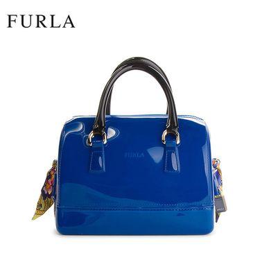 FURLA CANDY手提包 FUCSIA 941239 新款 女士PVC果冻包  多色可选 洲际速买
