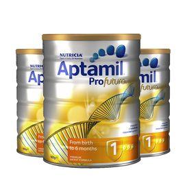 Aptamil  澳洲爱他美 Profutura 白金版婴儿奶粉 1段 0-6个月 3罐