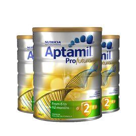 Aptamil 澳洲爱他美 Profutura 白金版婴儿奶粉 2段  6-12个月 3罐