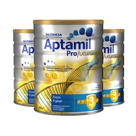 Aptamil 澳洲爱他美 Profutura 白金版婴幼儿奶粉 3段 1岁以上  3罐装