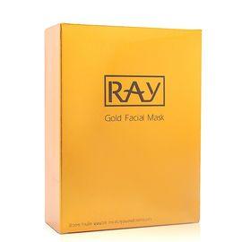 RAY 妆蕾蚕丝面膜 金色 10片*2盒