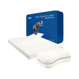 Mane'n Tail/箭牌 泰国天然乳胶5/7.5cm床垫 七区支撑系统