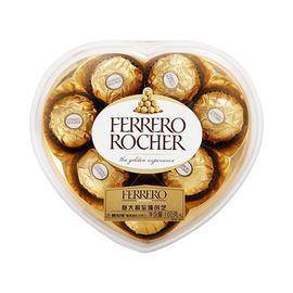 FERRERO ROCHER/费列罗 榛果威化巧克力8粒心型装  |  100g