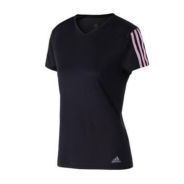 Adidas 女服短袖T恤2019新款跑步健身训练透气运动服DX2021