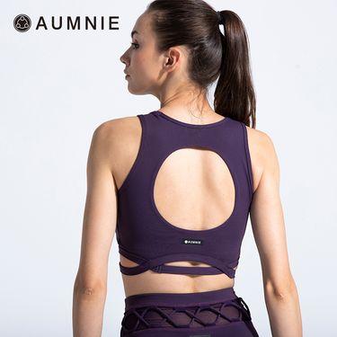 aumnie 澳弥尼丨女士运动内衣健身跑步瑜伽服塑形防震美背错觉胸围