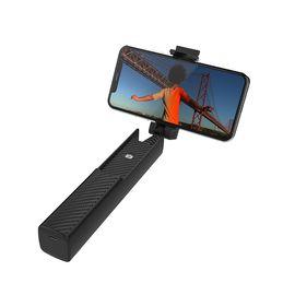 飞利浦 蓝牙自拍杆 碳纤维材质 铝合金拉杆 短视频/直播/自拍神器 DLK3613N 适用安卓/苹果通用