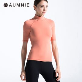 aumnie 澳弥尼丨女士新款秋冬上衣健身跑步修身瑜伽服高领运动T恤
