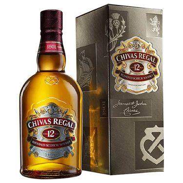 【易购】芝华士12年(40度)700ml/瓶 威士忌 洋酒