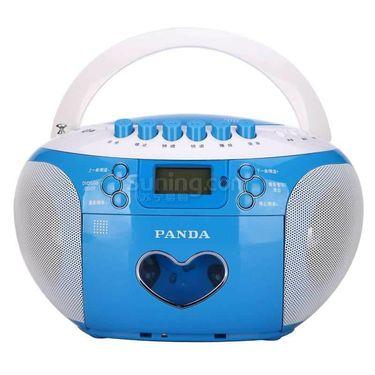 【易购】熊猫 便携式 DVD 复读播放机 CD-350 蓝