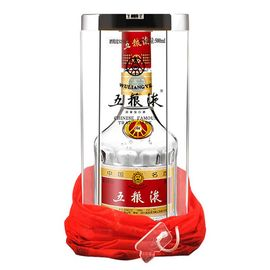 【易购】52度五粮液500ml普五浓香型礼盒装白酒