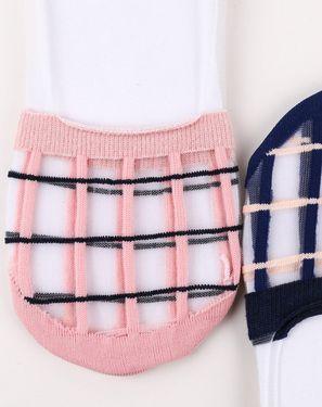 女袜 木几良品(5双装)女隐形袜日系个性图案舒适短袜