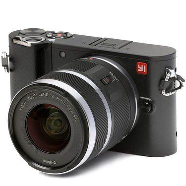 【易购】小蚁微单相机M1标准变焦套机(暴风黑)