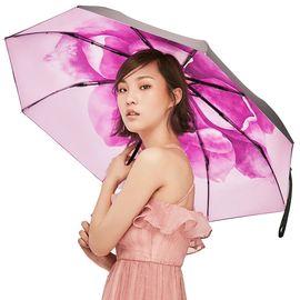 【易购】蕉下(BANANA UNDER)雨伞男女遮阳伞晴雨伞情侣雨衣太阳伞迷你焦下口袋黑胶伞旗舰店 曲粉-0115