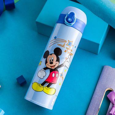 【唯品会】迪士尼儿童保温杯卡通图案学生直饮杯男女不锈钢水杯500ml