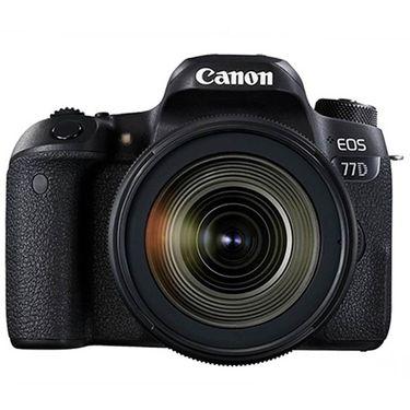 【易购】佳能(Canon) EOS 77D+EF 16-35mm f/4L IS USM 广角变焦镜头套装
