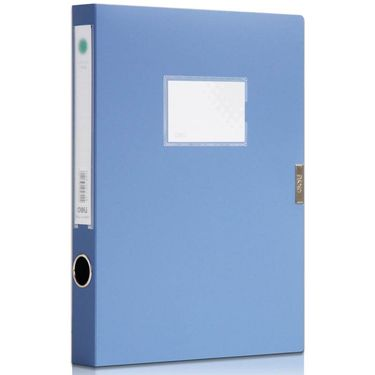 【易购】得力5622档案盒(蓝)(只) 12只装