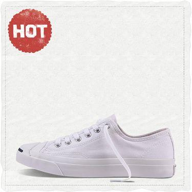 匡威 Converse匡威男女鞋帆布鞋经典款开口笑低帮休闲运动鞋1Q698