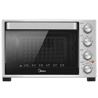 美的 (Midea) T3-321B 美的电烤箱家用多功能大容量32L 独立温控 银色
