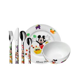 WMF 福腾宝 冰雪奇缘系列儿童餐具六件套(含刀叉勺陶瓷碗碟)