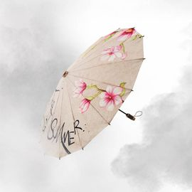 【易购】BANANA UNDER蕉下茜空防紫外线防晒伞太阳伞遮阳伞晴雨伞折叠男女 花浅翠-8210